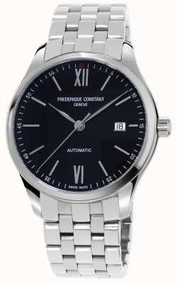 Frederique Constant Reloj automático para hombre índice delgado FC-303BN5B6B