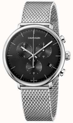 Calvin Klein | acero inoxidable para hombre al mediodía | cronógrafo | K8M27121