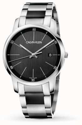 Calvin Klein | ciudad de mens | Pulsera de acero inoxidable en dos tonos | K2G2G1B1