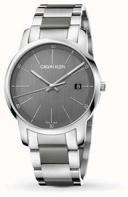 Calvin Klein | reloj de extensión para hombre de ciudad | acero inoxidable de dos tonos | K2G2G1P4