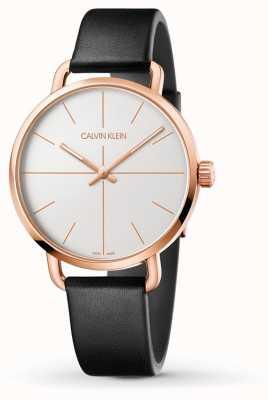 fea5b7b530bd Calvin Klein Reloj De Mujer Minimalista Reloj De Plata K3M211Y6 ...