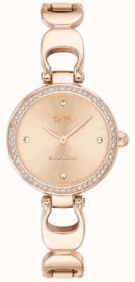 Coach | reloj parque mujer | correa de oro rosa cara de oro rosa | 14503172