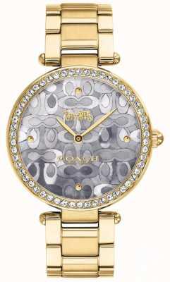 Coach | reloj parque mujer | Dos tonos plata y oro | 14503222