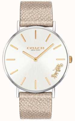 Coach | reloj perry para mujer | correa de crema | 14503157