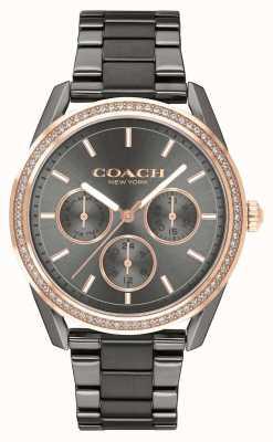 Coach | reloj preston | Reloj cronógrafo de acero inoxidable. 14503214