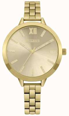 Missguided | reloj de señoras | acero inoxidable oro | MG005GM