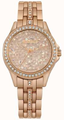 Missguided | reloj de señoras | oro rosa | esfera de piedra de oro rosa | MG013RGM
