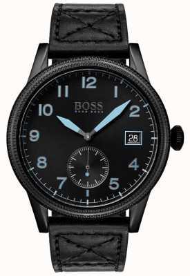 Boss | legado negro para hombre | acero inoxidable negro | 1513672