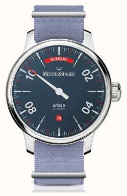 MeisterSinger Fecha del día urbano | reloj de dos correas | URDD908