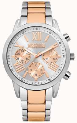 Missguided El | reloj de mujer | pulsera de acero inoxidable bicolor | MG008SRM