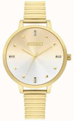 Missguided | reloj de oro de las señoras | MG012GM