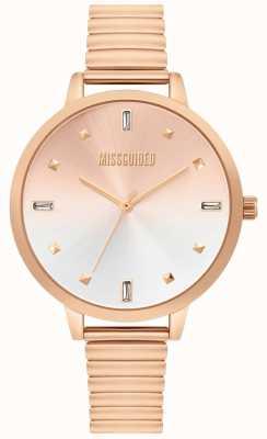 Missguided | reloj de oro rosa para mujer | MG012RGM