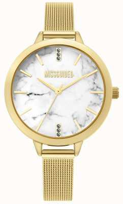 Missguided | reloj de malla de oro para mujer | MG011GM