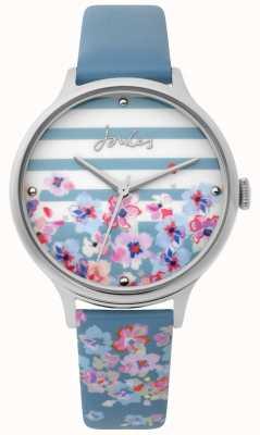 Joules | reloj de señoras | correa de impresión floral azul pálido | JSL015US