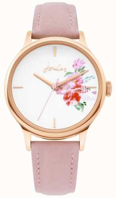 Joules | reloj de señoras | correa de cuero desnuda | caja de oro rosa | JSL017PRG