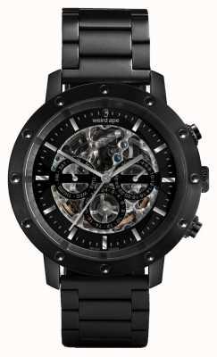 Weird Ape Reloj de pulsera negro / negro con esfera Icarus 3 WA02-005700