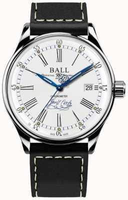 Ball Watch Company Trainmaster endeavor cronómetro cuero edición limitada NM3288D-L2CJ-WH