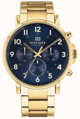 Tommy Hilfiger | reloj daniel dorado para hombre | 1710384