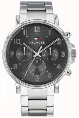 Tommy Hilfiger | reloj daniel de acero inoxidable para hombre | 1710382