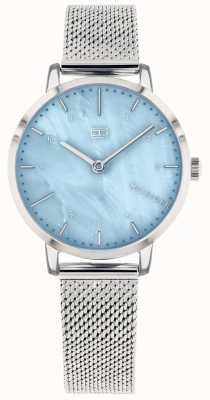 Tommy Hilfiger El | reloj de mujer lirio | malla de acero inoxidable | esfera azul | 1782041