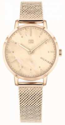 Tommy Hilfiger El | reloj de lirio rosa dorado para mujer | 1782042