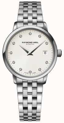 Raymond Weil | reloj de diamante toccata damas | 5988-ST-40081