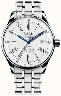 Ball Watch Company Pulsera Trainmaster Endeavour Chronometer de edición limitada NM3288D-S2CJ-WH