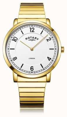 Rotary El | caballero pulsera chapada en oro | GB02766/18