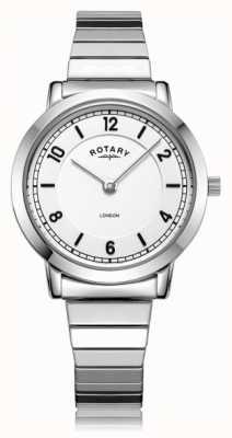 Rotary | pulsera de acero inoxidable para mujer | LB00765/18