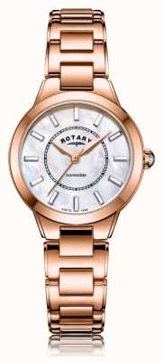 Rotary | pulsera de oro rosa para mujer | LB05379/41