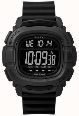 Timex | impulso de choque negro digital | TW5M26100SU