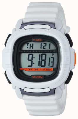 Timex | impulso de choque blanco digital | TW5M26400SU