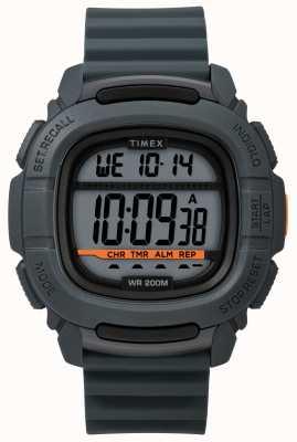 Timex El | impulsar shock digital gris | correa de goma TW5M26700SU
