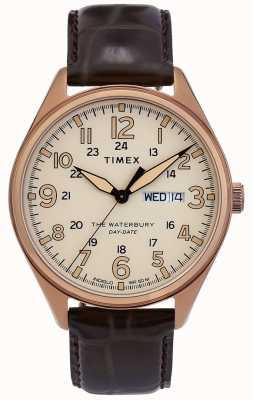 Timex | reloj tradicional de la fecha de Waterbury | TW2R89200D7PF