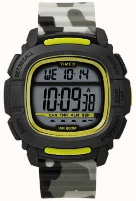 Timex | boost shock negro / lima / camo digital | TW5M26600SU