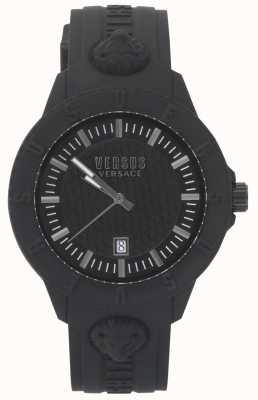 Versus Versace El | reloj negro para mujer | correa de silicona | VSPOY2318