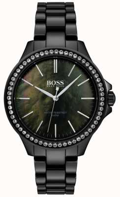 Boss | reloj de acero inoxidable negro para mujer | 1502456