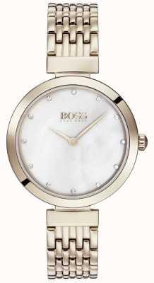Boss | pulsera de metal dorado rosa pálido | 1502480