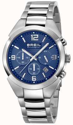 Breil | correa de acero inoxidable para caballero | esfera azul | TW1328