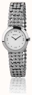 Breil | correa de acero inoxidable de seda para mujer | TW1766