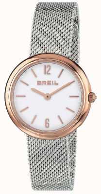 Breil | Correa de malla de acero inoxidable para damas iris | TW1777