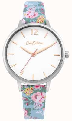 Cath Kidston | Correa floral azul claro para mujer | esfera blanca | CKL067U