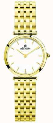 Michel Herbelin Reloj de pulsera de acero inoxidable épsilon para mujer. 17116/BP11
