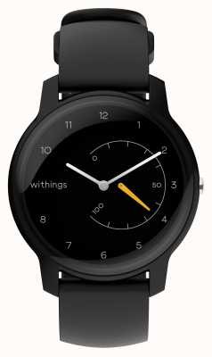 Withings Mover el rastreador de actividad negro y amarillo HWA06-MODEL 1-ALL-INT