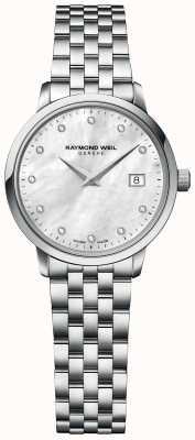 Raymond Weil | mujer tocata diamante | pulsera de acero inoxidable | 5985-ST-97081