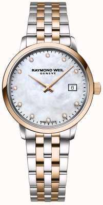 Raymond Weil El | toccata diamante para mujer | acero inoxidable bicolor | 5985-SP5-97081