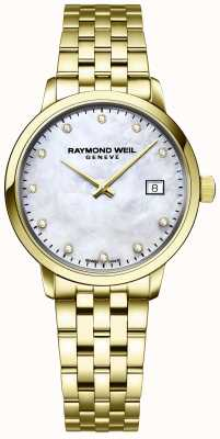 Raymond Weil El | toccata diamante para mujer | pulsera de oro y acero inoxidable | 5985-P-97081