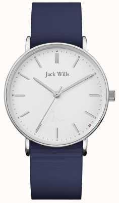 Jack Wills | correa de silicona sandhill blue para mujer | JW018WHNV