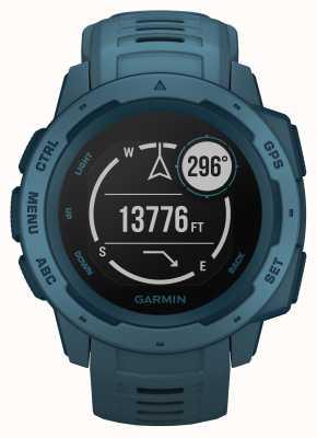 Garmin Instinct lakeside blue correa de silicona gps para exteriores 010-02064-04