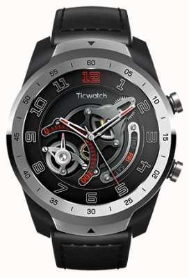 TicWatch Pro | reloj de plata metal liquido WF12096-SILV